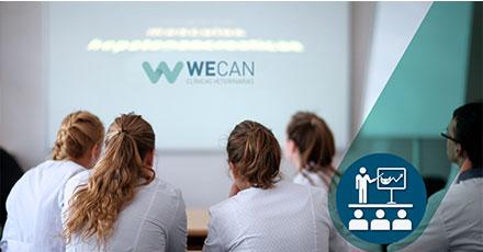 Formación clínicas veterinarias Wecan